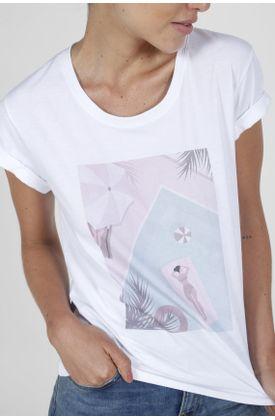 Tshirt-para-mujer-Tennis-con-estampado-piscina