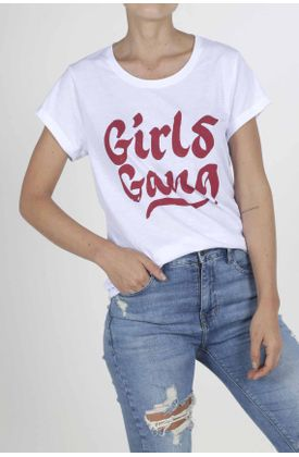 Tshirt-para-mujer-Tennis-con-estampado-girls-gang