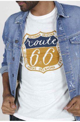 Tshirt-para-hombre-Tennis-con-estampado-route-66