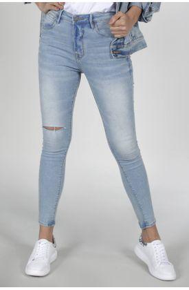 Jean-para-mujer-Tennis-silueta-super-slim-plano-y-cintura-con-pretina