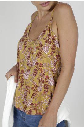 Camisa-para-mujer-Tennis-estampada-y-de-tiras
