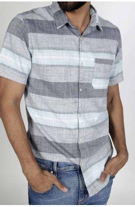 Camisa-para-hombre-Tennis-preteñida-y-manga-corta