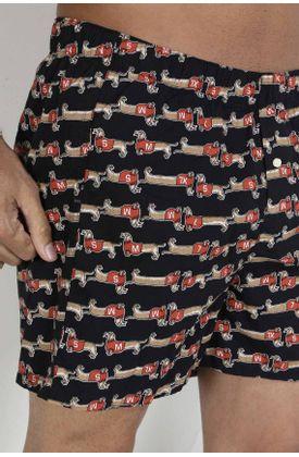 Boxer-para-hombre-Tennis-plano-y-estampado-de-salchichas