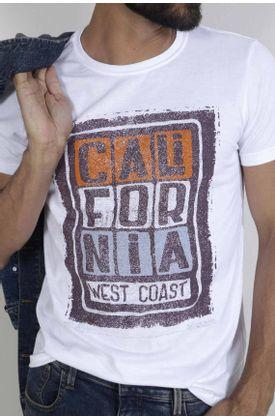Tshirt-para-hombre-Tennis-con-estampado-west-coast