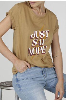 Tshirt-para-mujer-Tennis-con-estampado-just-say-nop