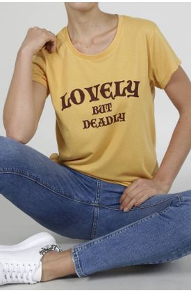 Tshirt-para-mujer-Tennis-con-estampado-lovely-but-deadly