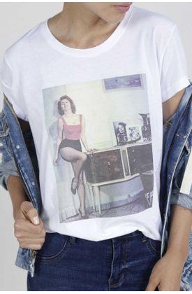 Tshirt-para-mujer-TopMark-con-estampado-foto