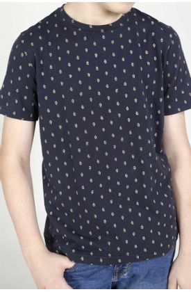 Tshirt-para-niño-Tennis-estampado-de-barcos