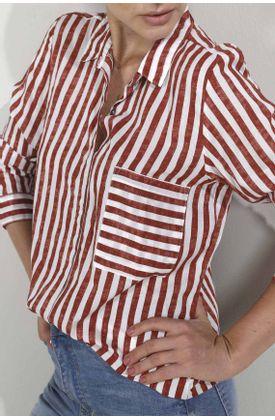 Camisa-para-mujer-Tennis-estampada-y-manga-larga