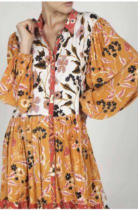 Kimono-para-mujer-Tennis-estampado-flores