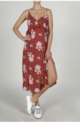 Vestido-para-mujer-TopMark-corto-y-estampado