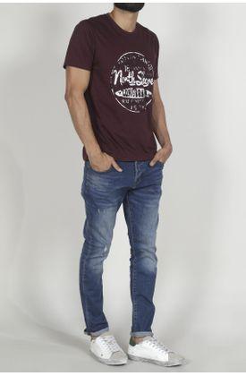 Tshirt-para-hombre-Tennis-con-estampado-longboard