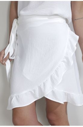 Falda-para-mujer-Tennis-plana-y-fondo-entero