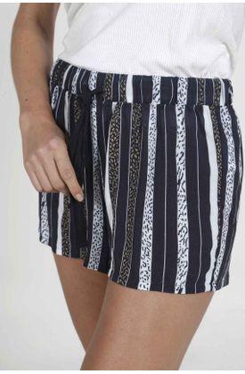 Pijama-parte-inferior-para-mujer-Tennis-con-estampado-de-rayas-y-manchas