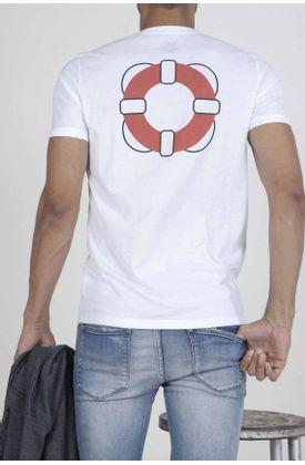 Tshirt-para-hombre-Tennis-con-estampado-life-saver