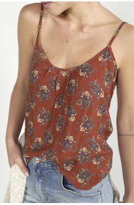 Camisa-para-mujer-TopMark-estampada-y-de-tiras