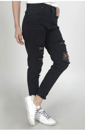 Jean-para-mujer-TopMark-silueta-boyfriend-plano-y-cintura-con-pretina