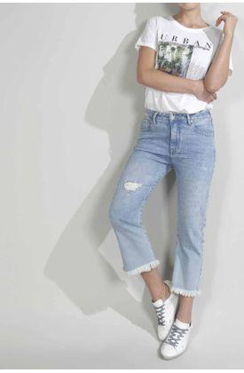 Jean-para-mujer-TopMark-silueta-moda-plano-y-cintura-con-pretina