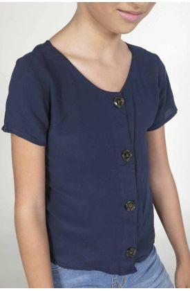 Camisa-para-niña-Tennis-fondo-entero-y-manga-corta
