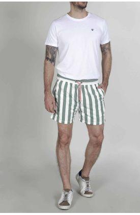 Pantaloneta-de-baño-para-hombre-Tennis-plana-y-estampado
