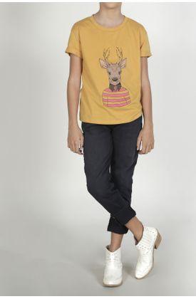 Tshirt-para-niña-Tennis-estampado-de-reno