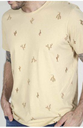 Tshirt-para-hombre-Tennis-con-estampado-cactus