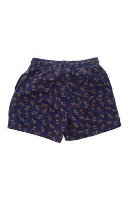 Pantaloneta-de-baño-para-hombre-Tennis-plana-y-estampado-de-tigres