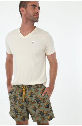Ropa-de-baño-para-hombre-tennis-pantaloneta-plano-estampado-oriental-tigres