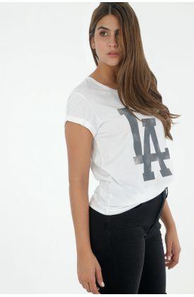 Tshirt-para-mujer-tennis-tshirt-estampado-la