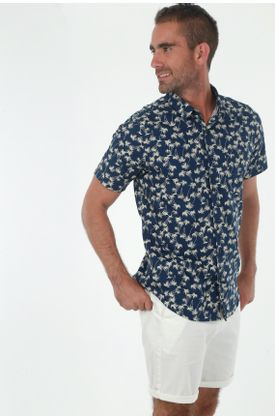 Camisa-para-hombre-tennis-camisas-estampado-manga-corta