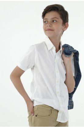 Camisa-niño-fondo-entero-y-manga-corta