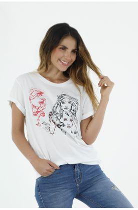 Tshirt-para-mujer-topmark-tshirt-bordado