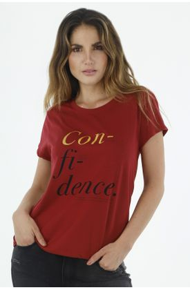 Tshirt-para-mujer-topmark-tshirt-entero-confidence