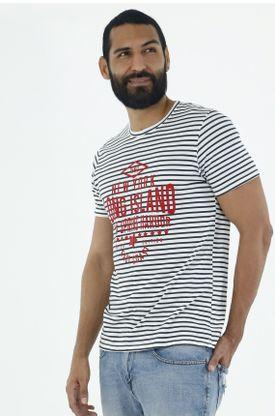 Tshirt-para-hombre-Tennis-estampado-long-island
