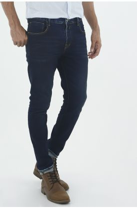 Jean-para-hombre-Tennis-silueta-super-skinny-plano-y-cintura-con-pretina