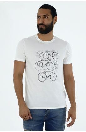 Tshirt-para-hombre-tennis-tshirt-estampado-bikes-london