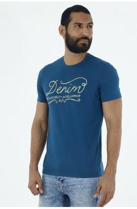 Tshirt-para-hombre-tennis-tshirt-estampado-denim