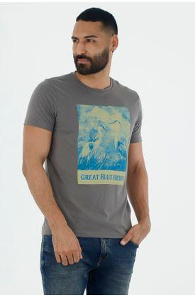 Tshirt-para-hombre-tennis-tshirt-estampado-great-blue-heron