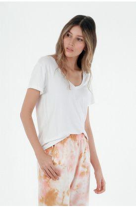 T-shirt-blanca-manga-corta-basica