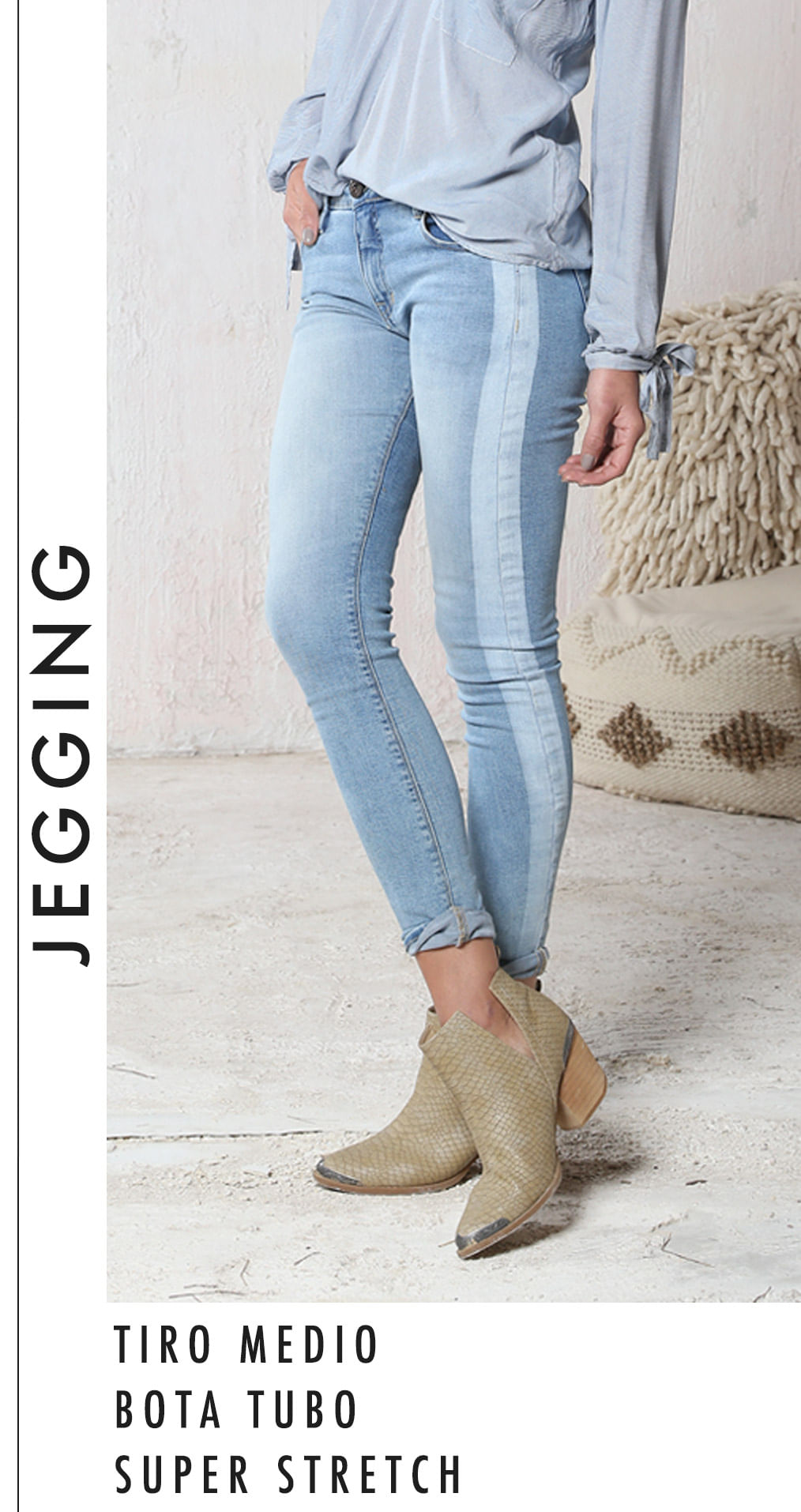 Jeans siluetas Mujer - Jegging